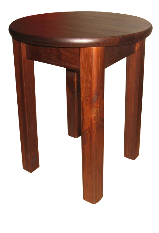 Pevný okrúhly stôl dia. 50 cm farba na DARČEK stôl