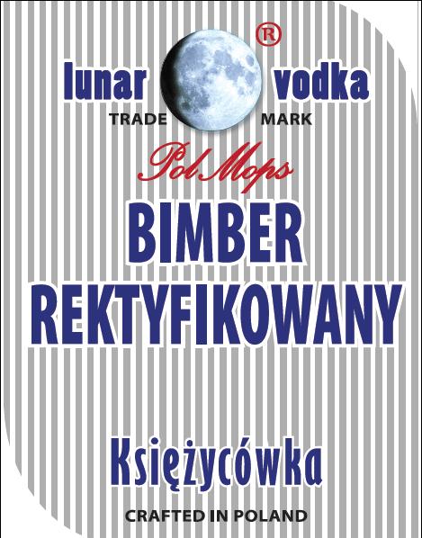 Etykiety Naklejki BIMBER REKTYFIKOWANY butelki 10x