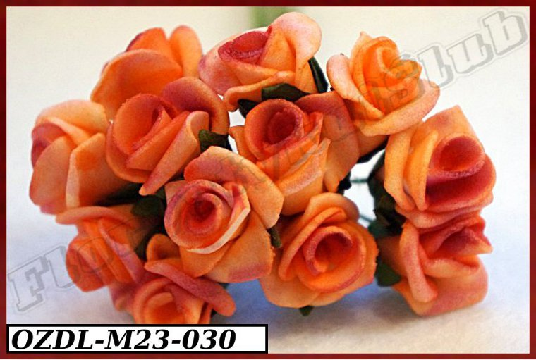 Купить M23 Пены цветы розы на проволоке 2 см/12шт 5kol. на Otpravka - цены и фото - доставка из Польши и стран Европы в Украину.