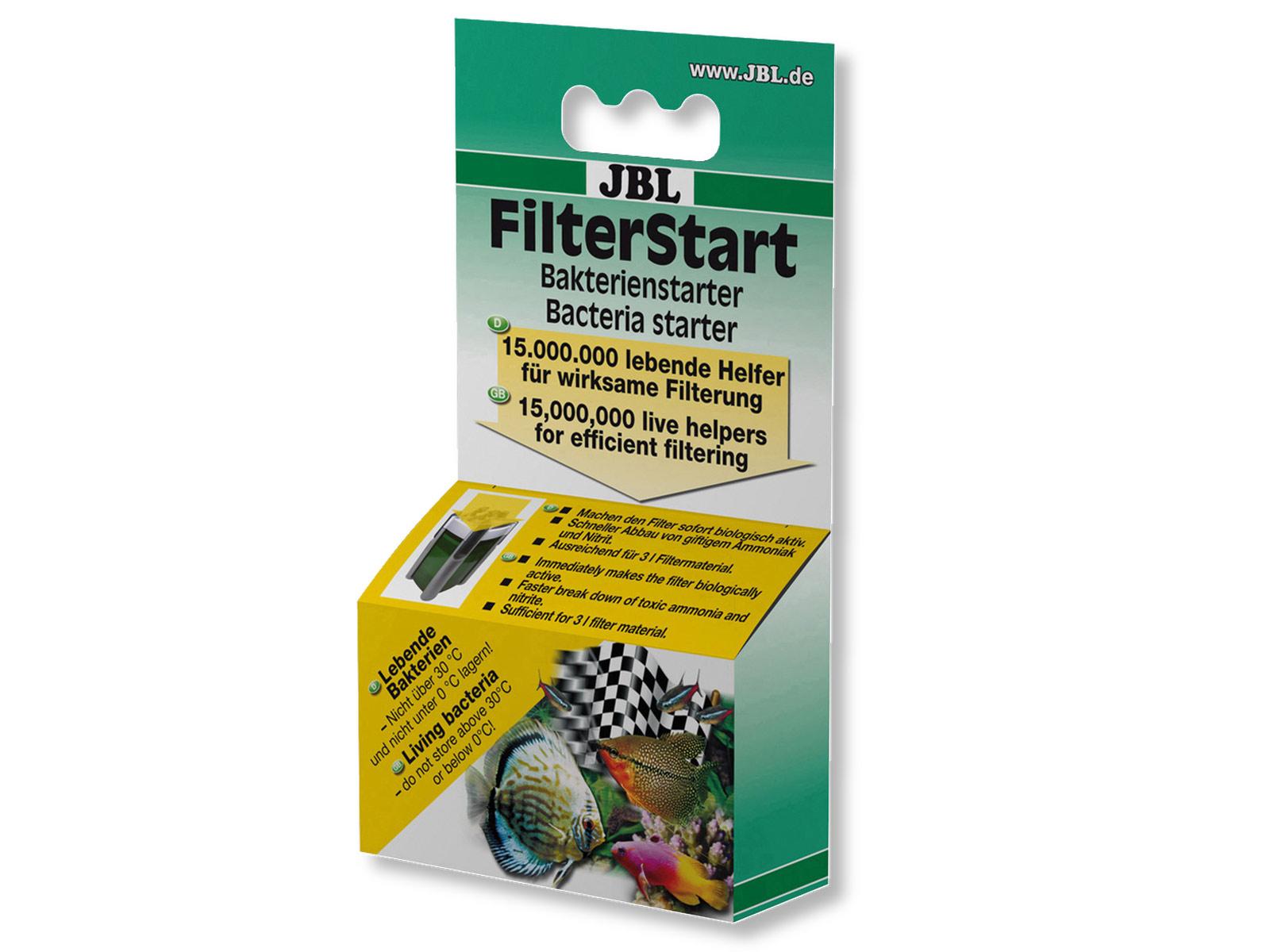 JBL FilterStart - BIOSTARTER DO FILTRA - BAKTERIE