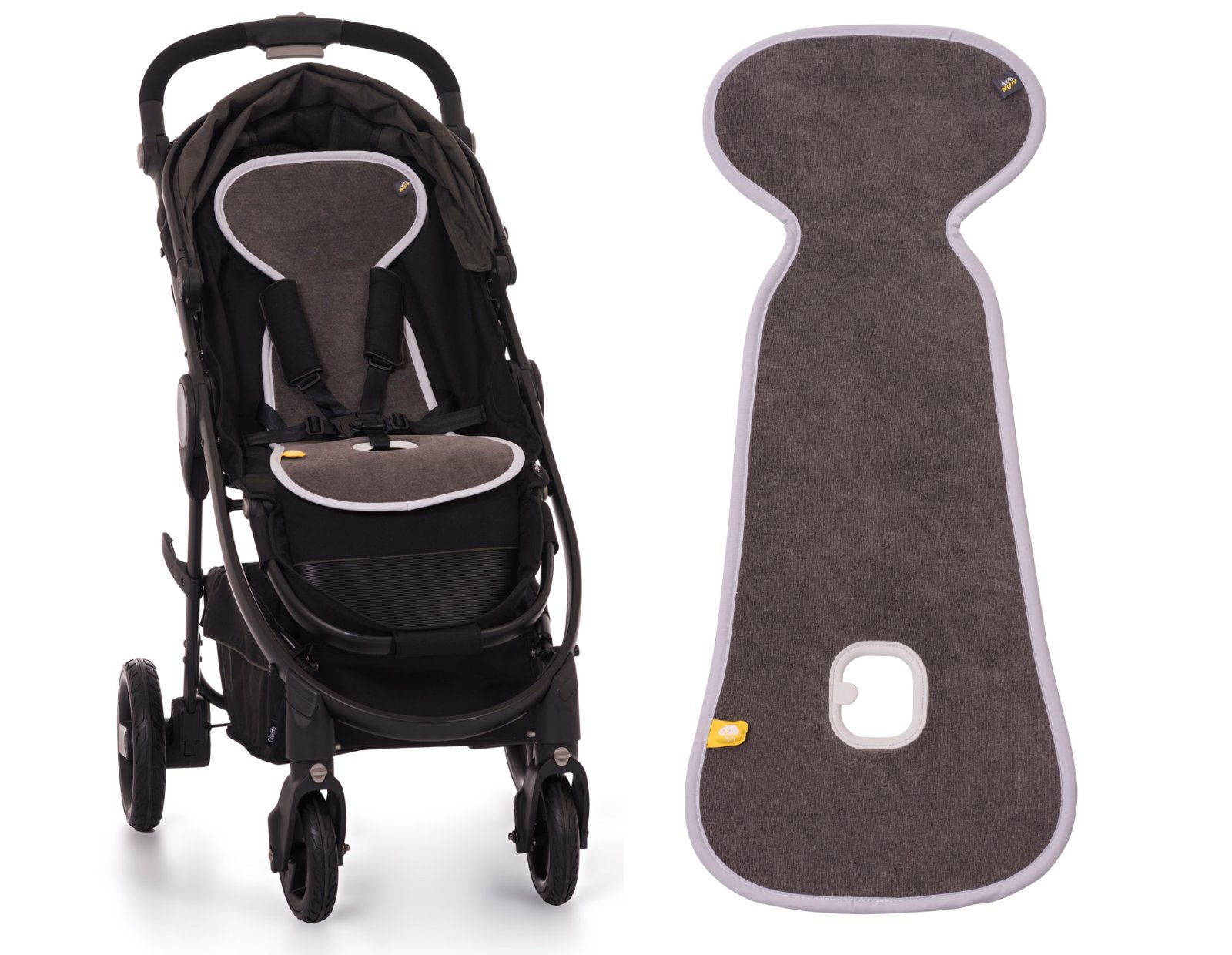 AEROMOOV ANTIPOTE INSERT BUGGY ANTHRACITE TROLLEY