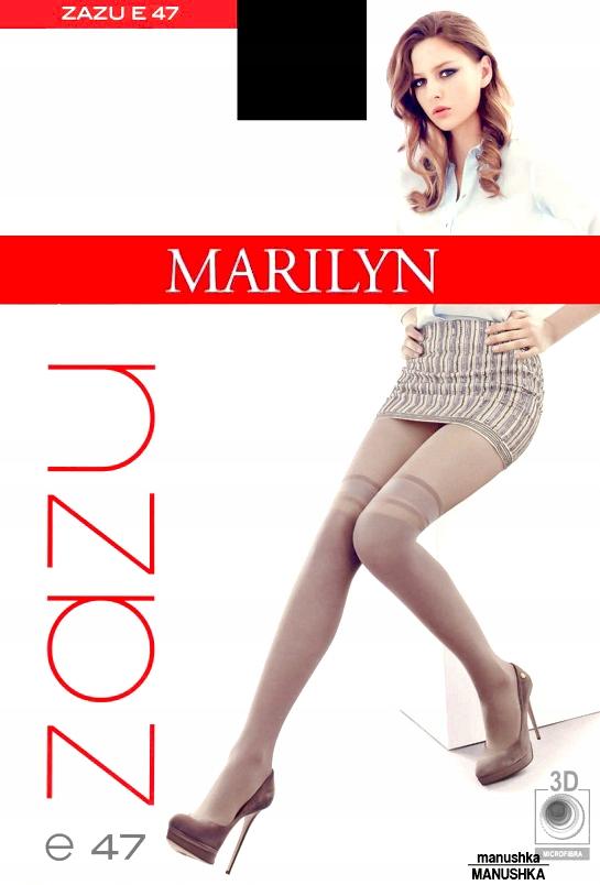 Marilyn Rajstopy Jak Zakolanówki Zazu E47 3/4