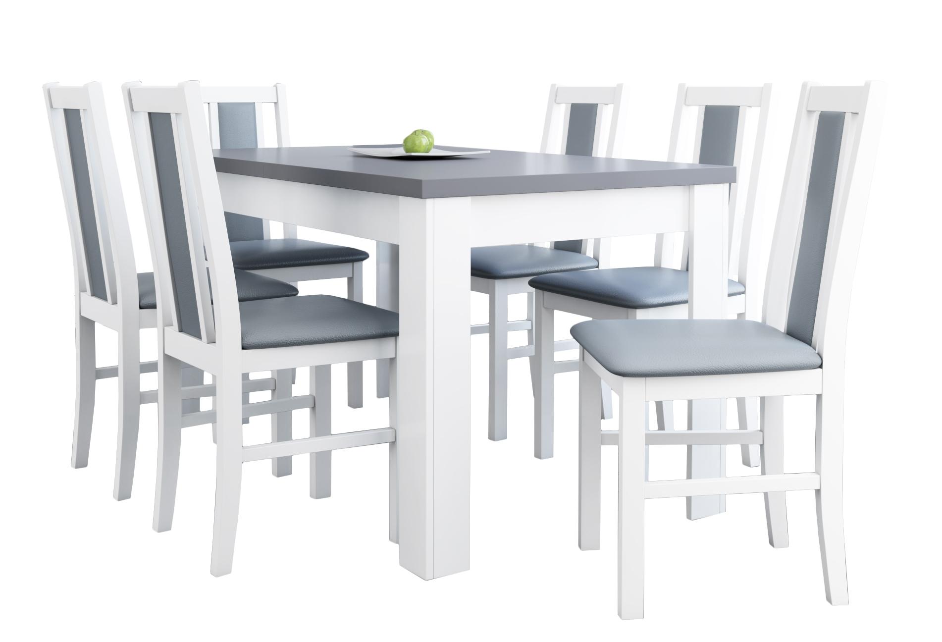 КРАСИВЫЙ комплект белое стулья + раскладной стол