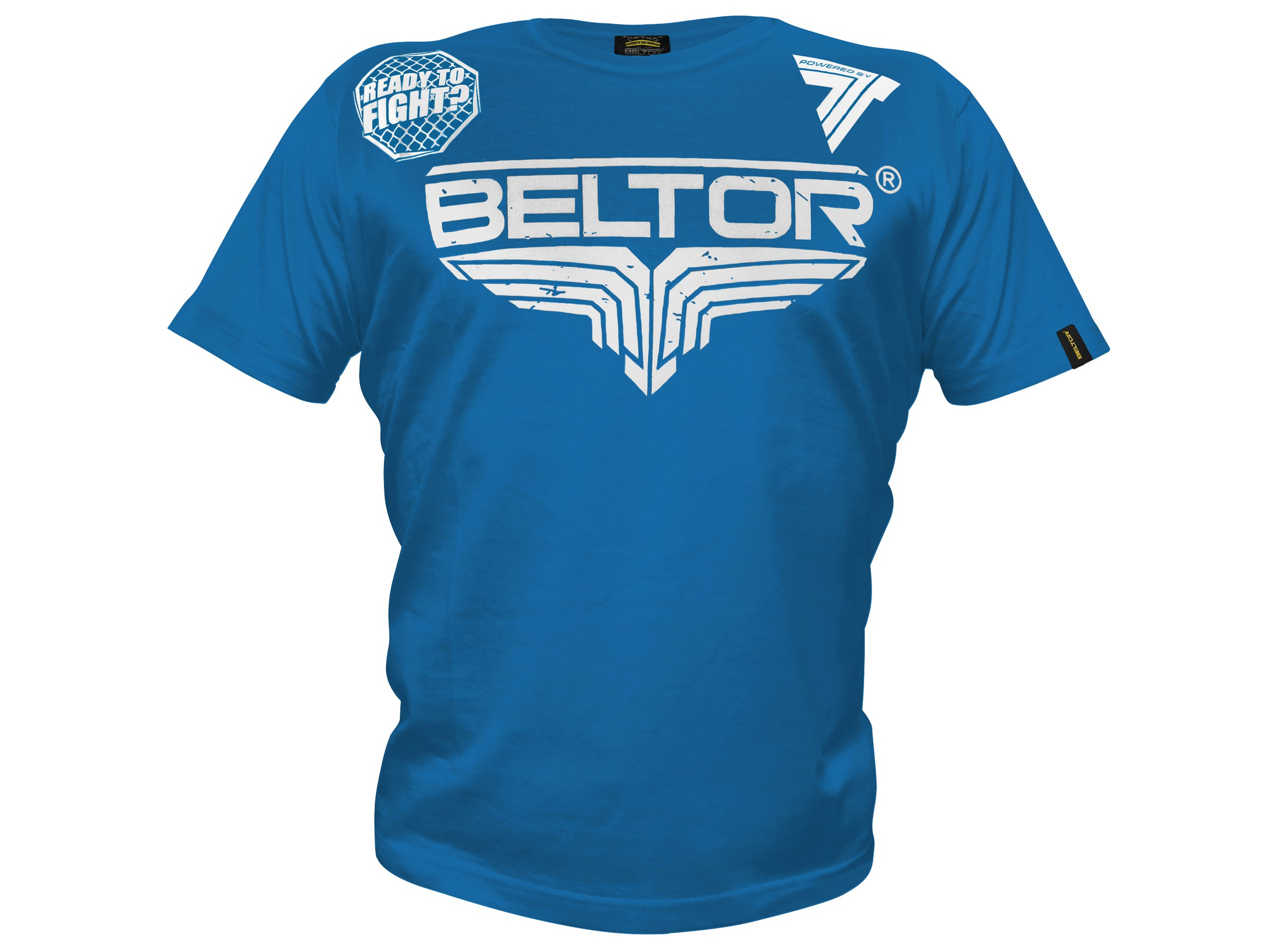 BELTOR BW T-shirt Octagon blue veľkosť M