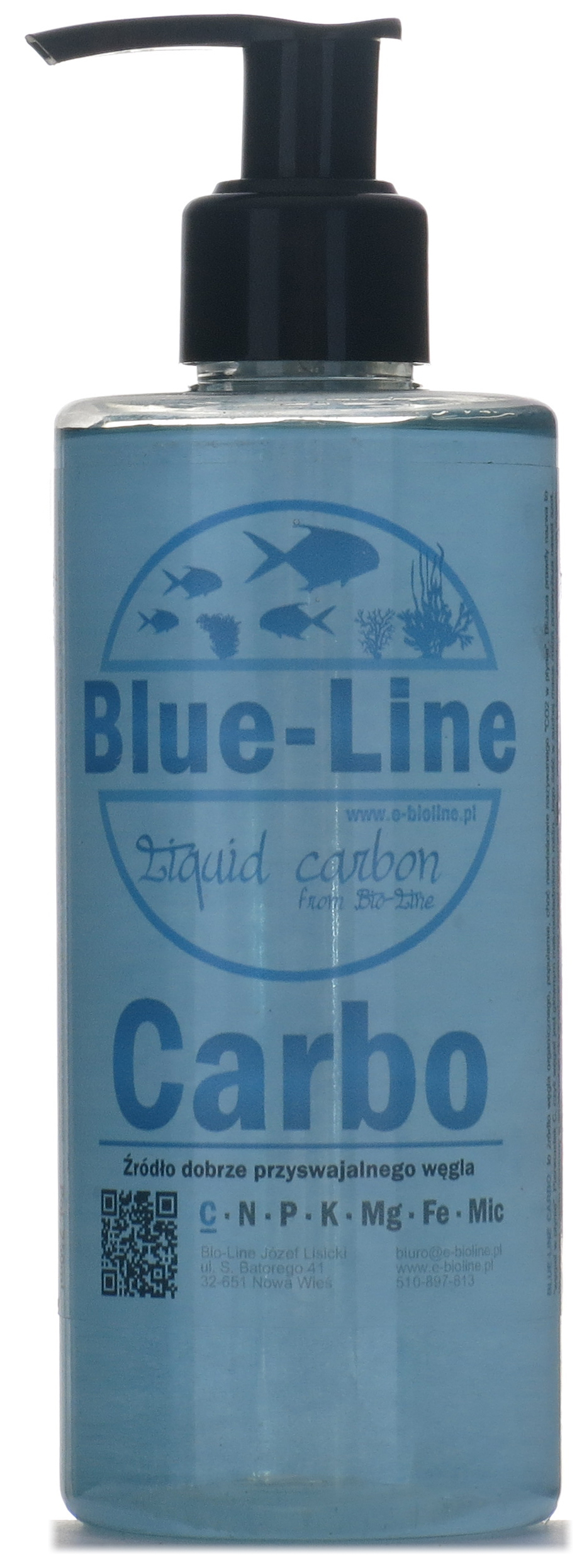 Blue-Line Carbo уголь в жидкости эффект CO2 500 мл