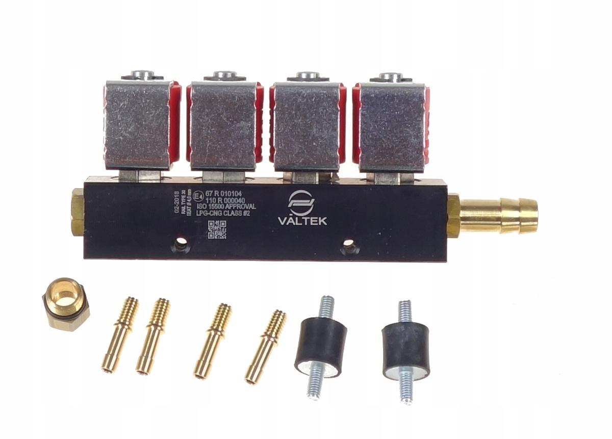 ORIGINAL VALTEK инжекторная рейка 4-цилиндровый Injector-e