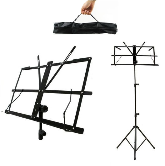 Item MUSIC STAND FOR SHEET MUSIC TRIPOD STAND FOR MUSIC - STUDENT