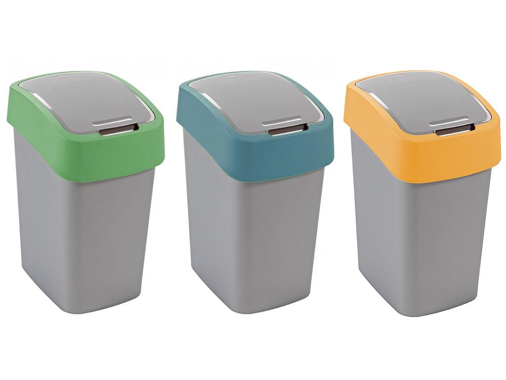 Набор 3X10L корзина CURVER для мусора, для сортировки