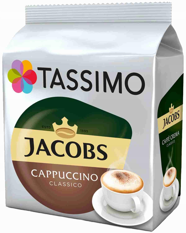Kapsułki TASSIMO Jacobs Cappuccino Classico