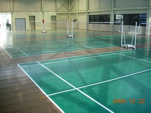 Súkromné modulárne chodcov Badminton
