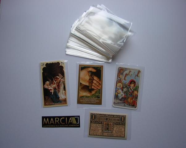 Kieszonki Ochronne 1 kg na znaczki itp. 60 x 45