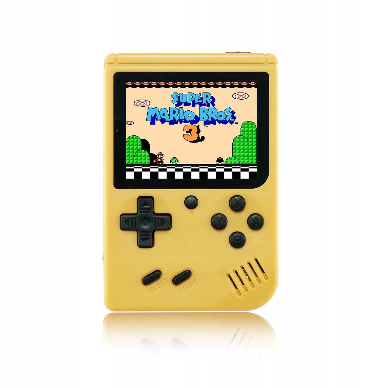 Item Mini portable Retro console with 168 games - Yellow