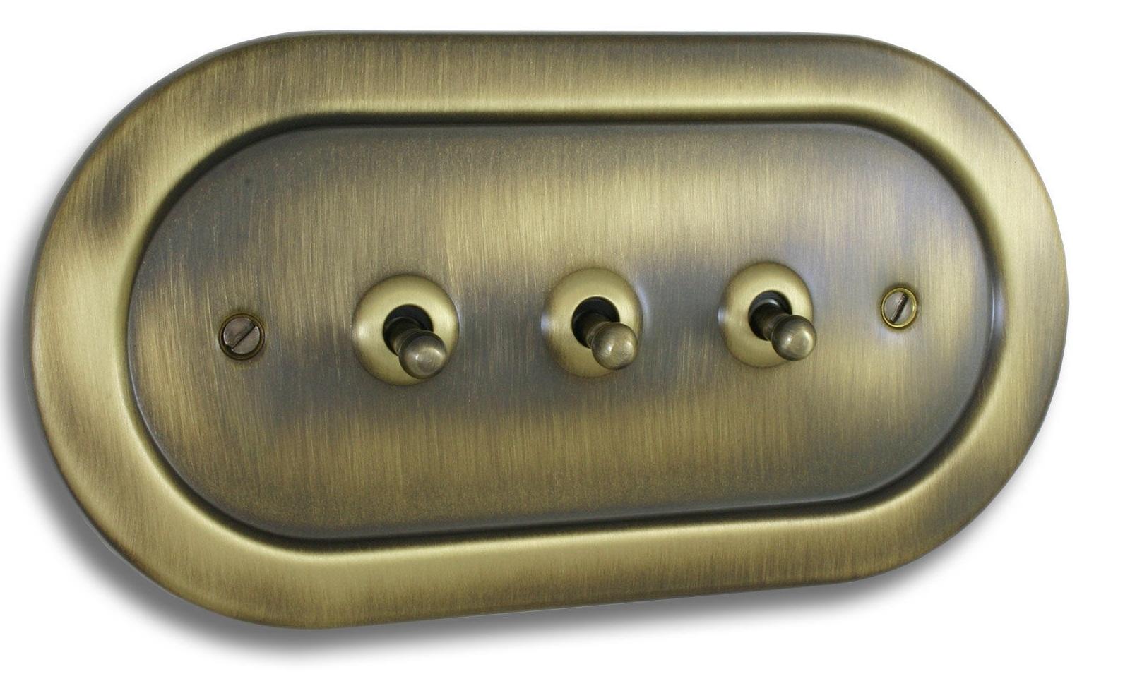 Prepínač prepínače Retro Loft kovové pnrm.