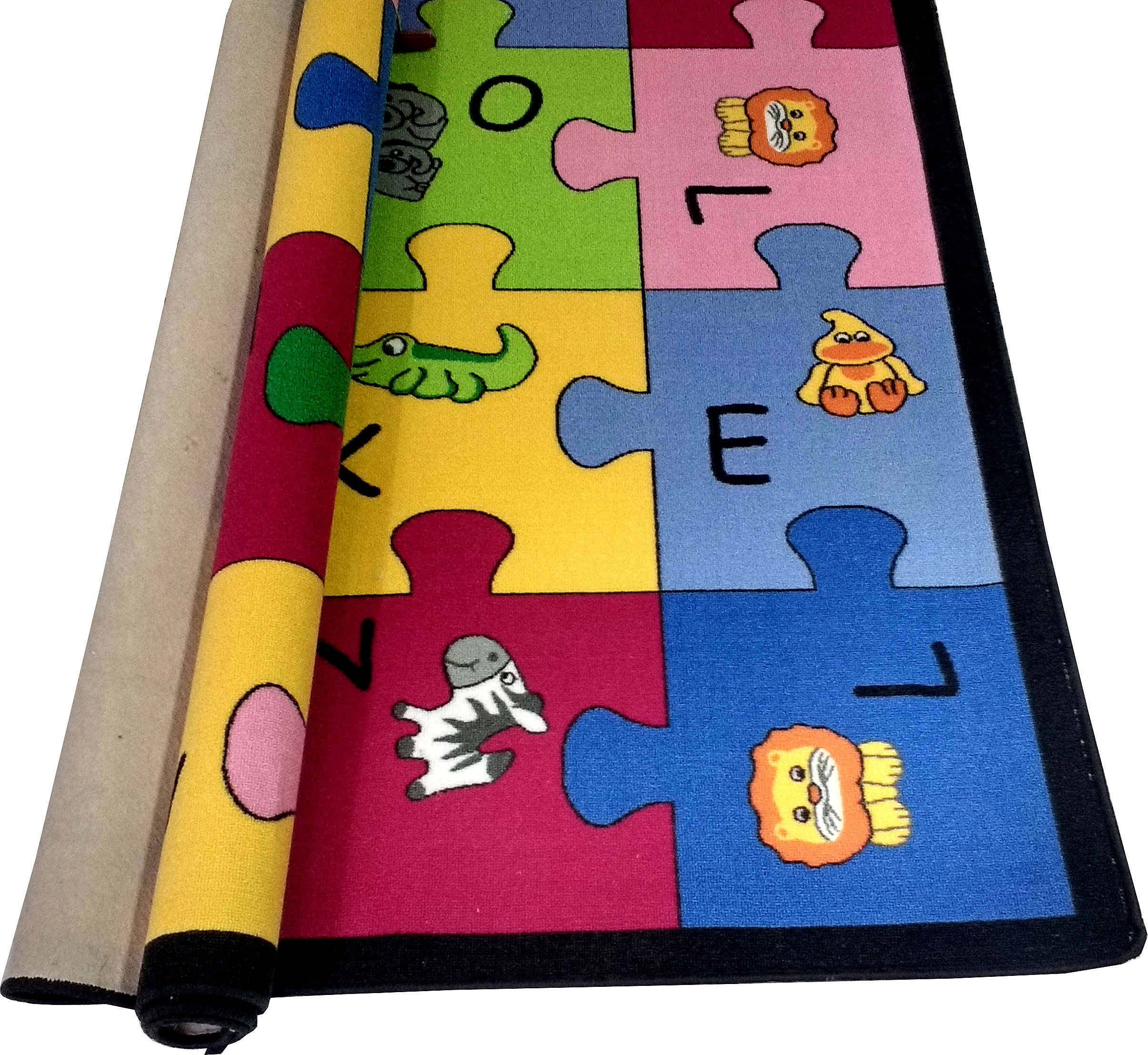 Dywan Mata Do Zabawy Dla Dzieci 200x200 Kolorowa