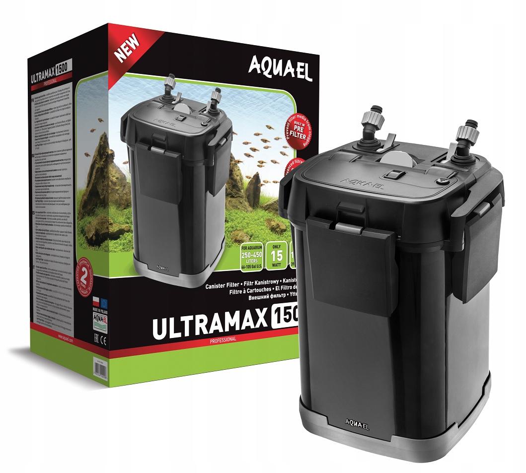 AQUAEL FILTR ZEWNĘTRZNY ULTRAMAX 1500 DO 250-450L