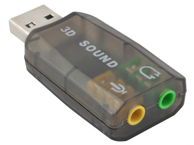 Zvuková karta pre počítač USB - na gitaru!