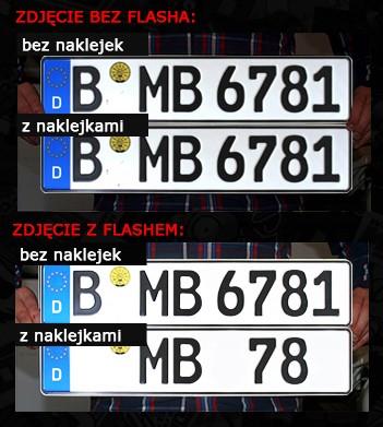 Fotoradar Naklejki Na Tablice Antyradar 100 Stop Rzeszow Allegro Pl