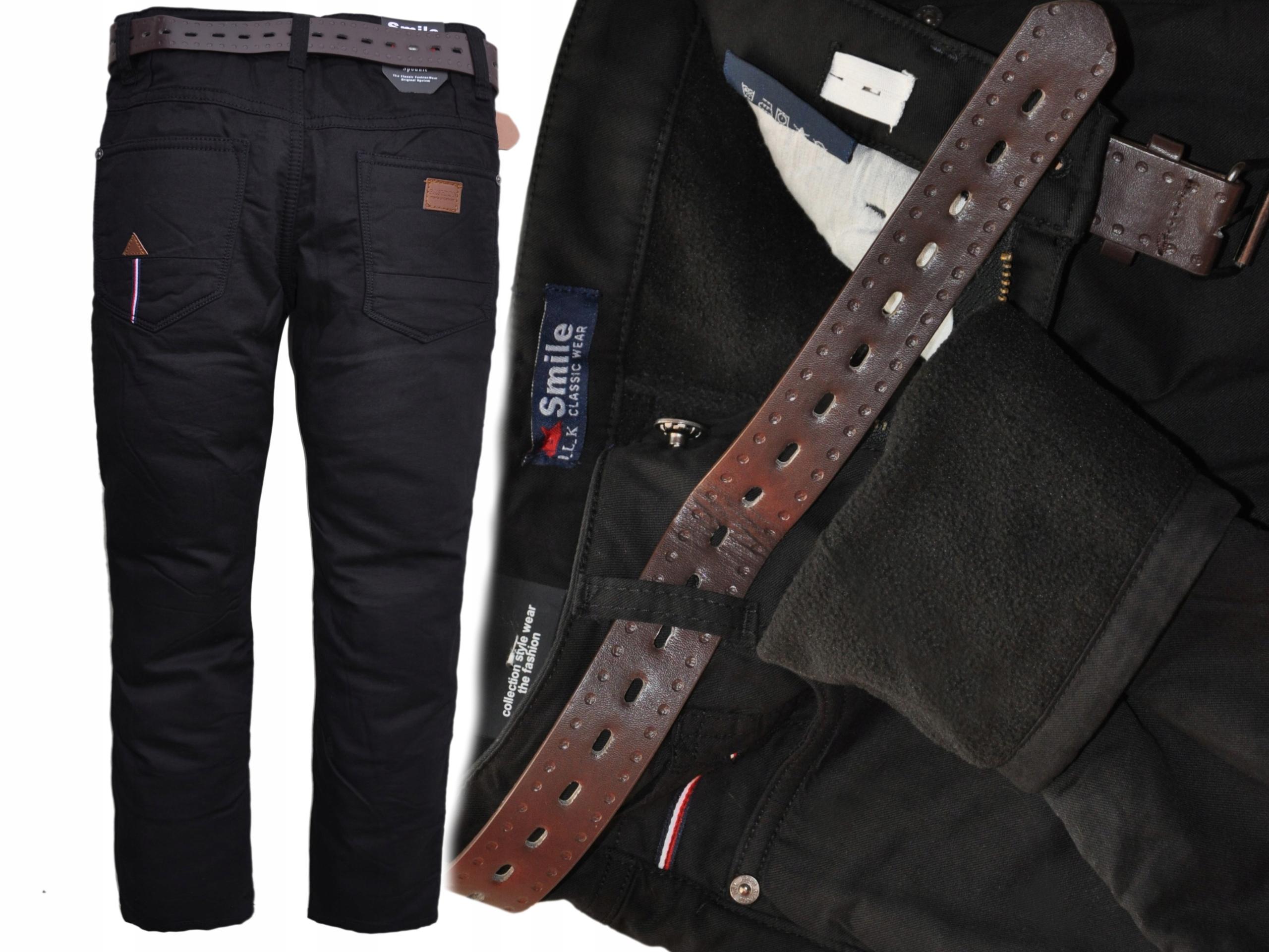 ÚSMEV DK black zateplený fleece(122-164) r 164