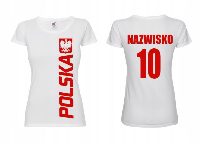 Dámske poľské dámske tričko pre fanúšik -l