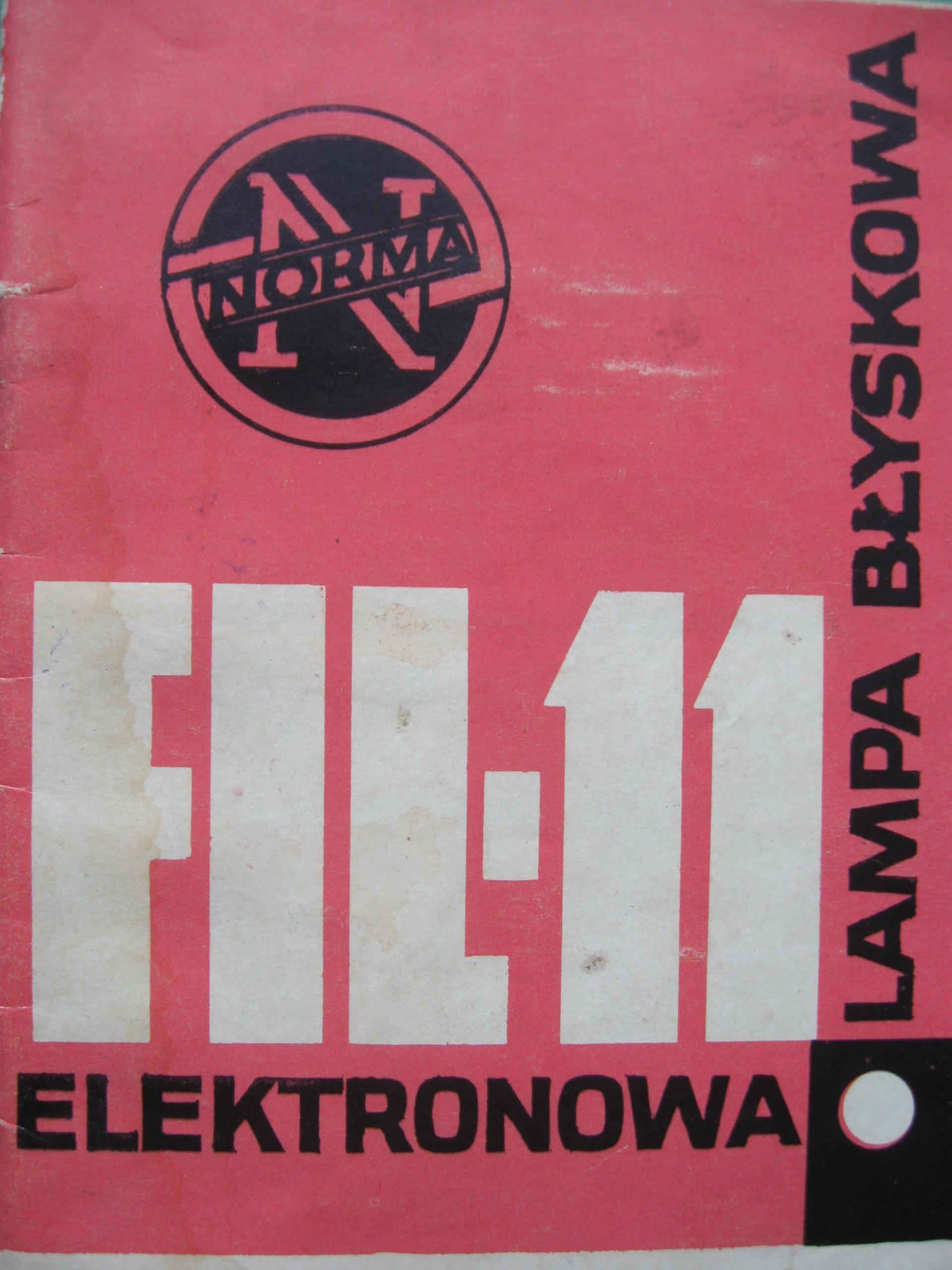 Electron Flash FIL-11 inštrukcie