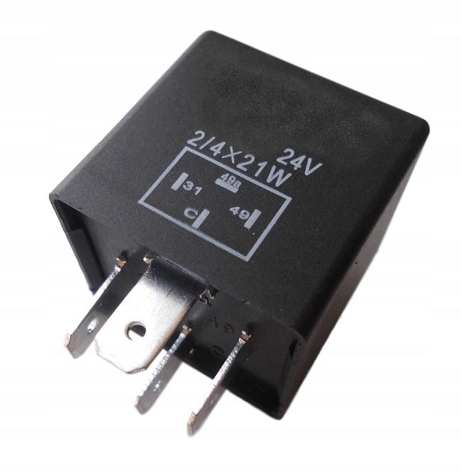 прерыватель указателей поворота 24v на 4 контакты мощность 84w