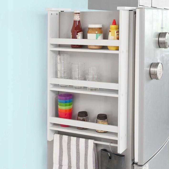 SoBuy FRG150-W Regał wiszący na lodówkę lub drzwi