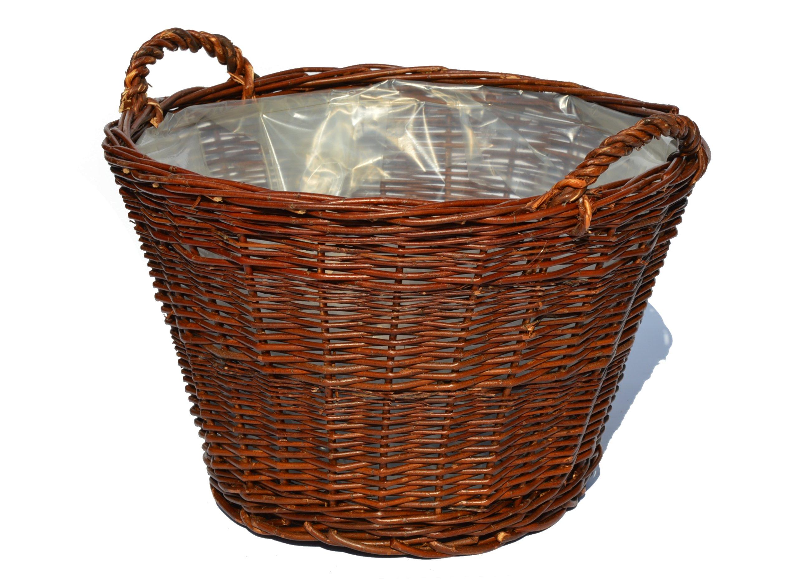 Hospodársky košík prútený prútik FI 45 cm
