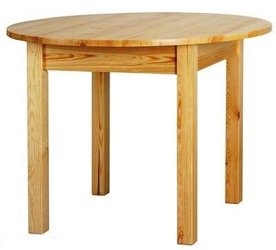 Pevný okrúhly stôl dia. 80 cm, kuchyňa, jedáleň, bar