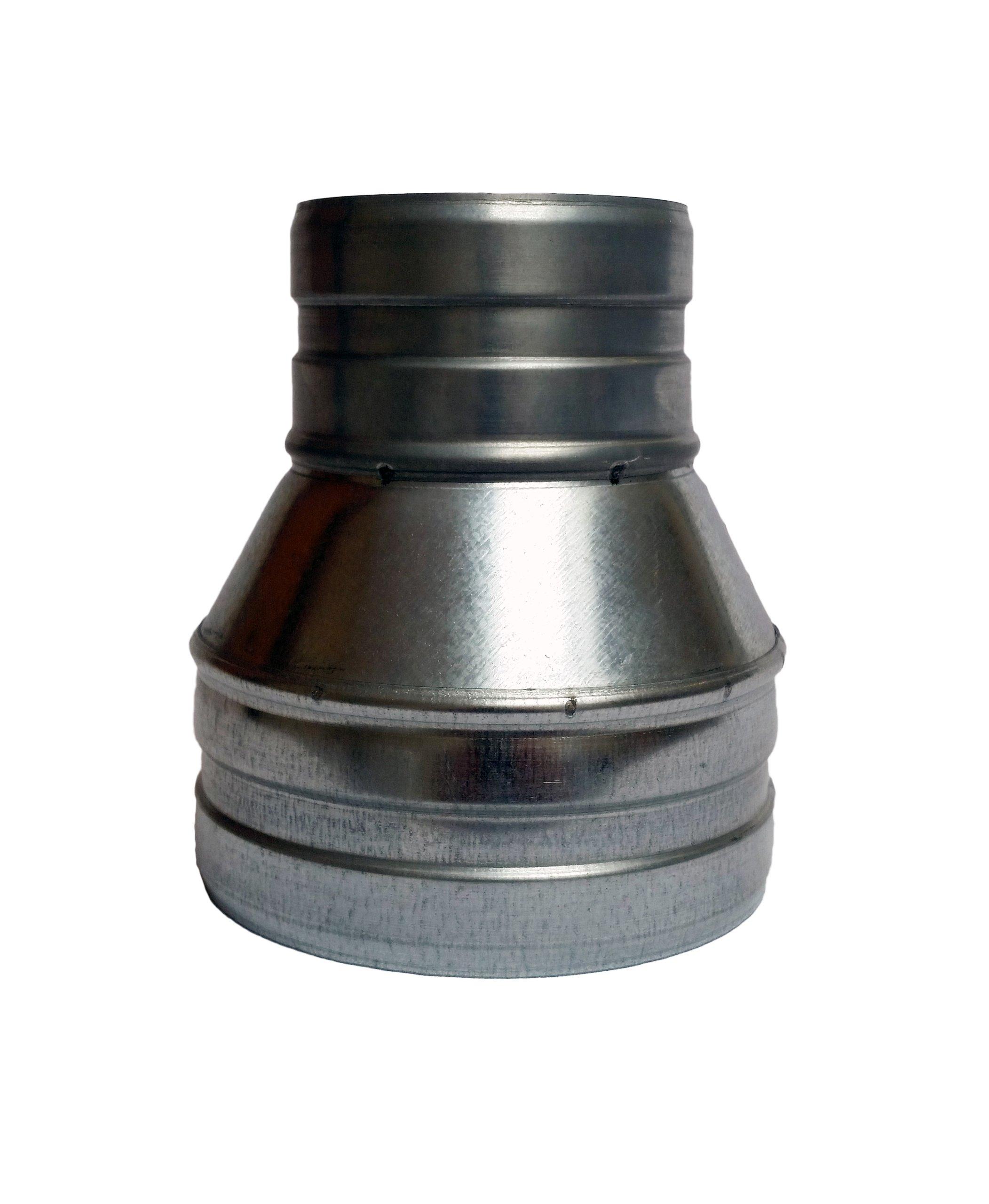 Zníženie 140/130 Snake Spiro Ventilátor