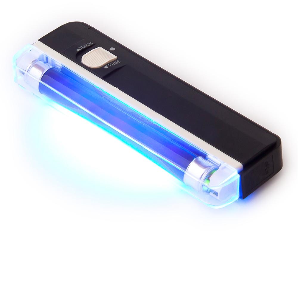 UV žiarovka pre testovanie krvných bankoviek z Spy shop