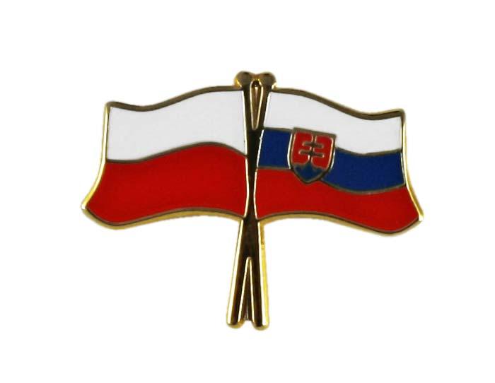 Купить Застежка pin wpinka флаг ПОЛЬША-Словакия на Otpravka - цены и фото - доставка из Польши и стран Европы в Украину.
