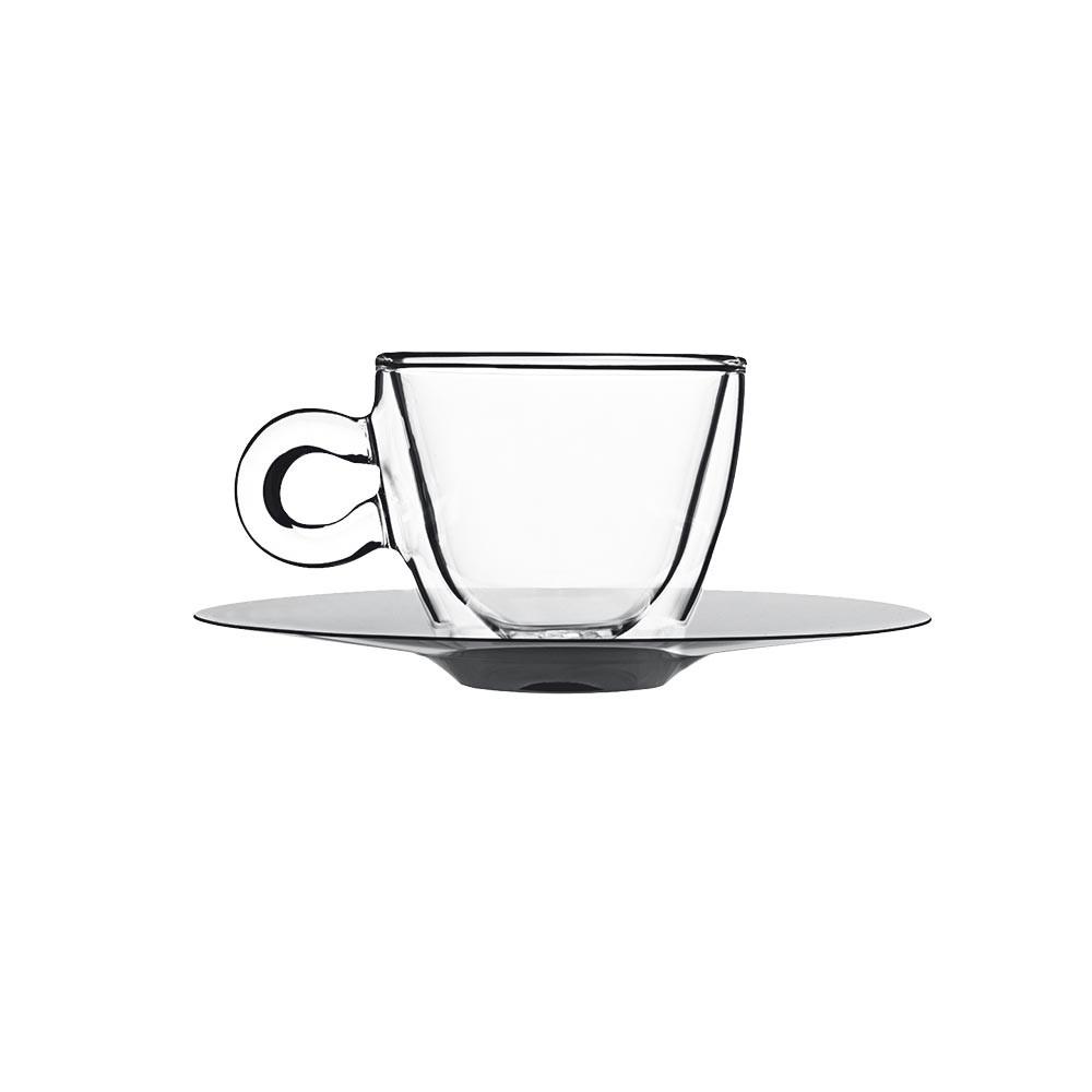 Šálky pre espresso + tanierový set 2ks 400901