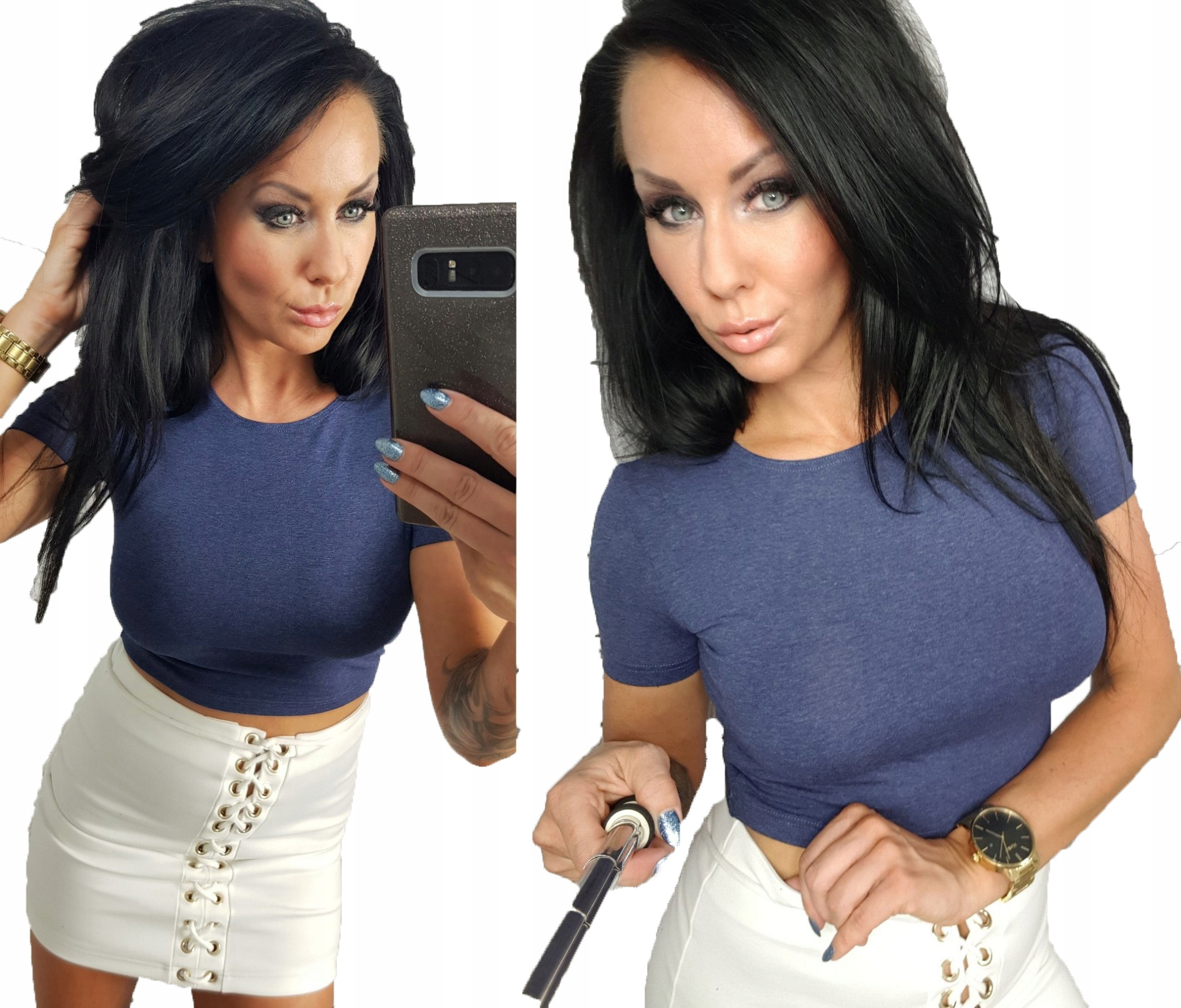 Lipmarkrótka bluzka top must have kolory s 36 Zdjęcie