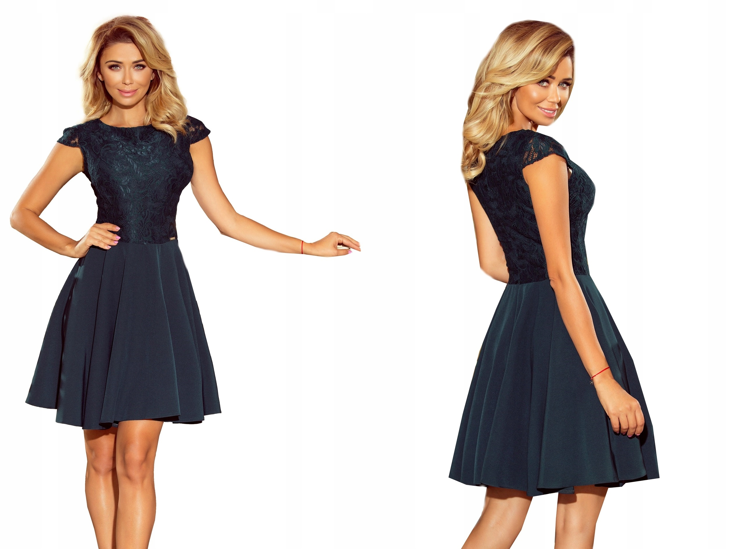 65402fd1e2 Sukienki NA STUDNIÓWKĘ DUŻE ROZMIARY 157-9 XXL 44 7588110111 - Allegro.pl