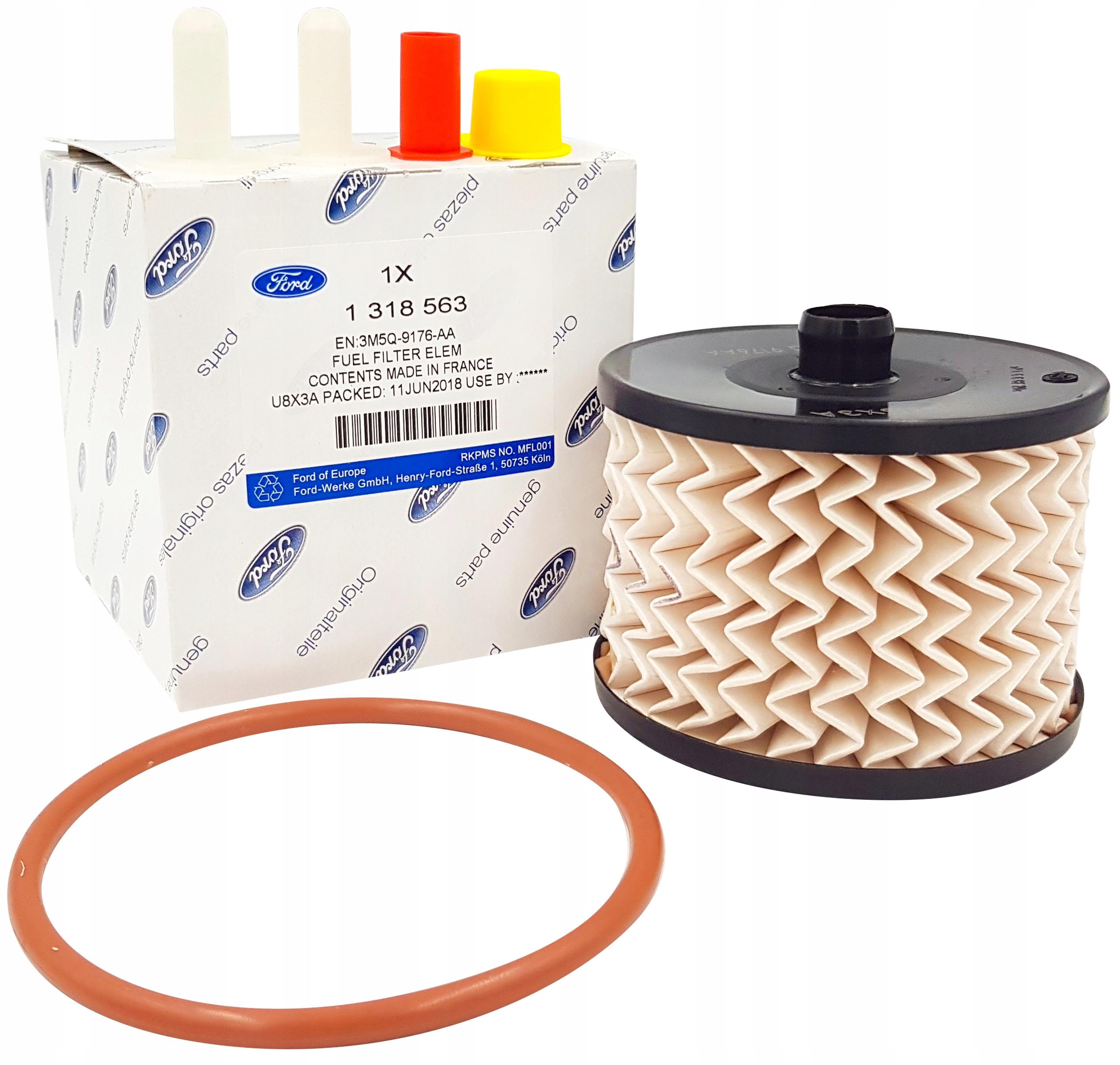 ford c-max focus ii kuga i 20 tdci фильтр топлива