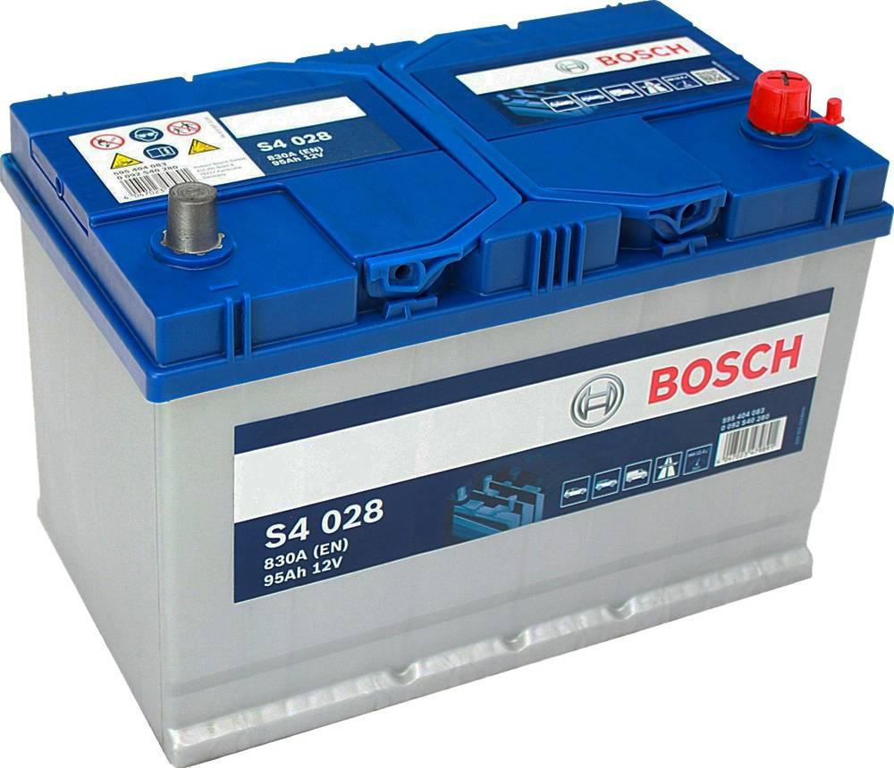 toyota rav4 d-4d аккумулятор bosch