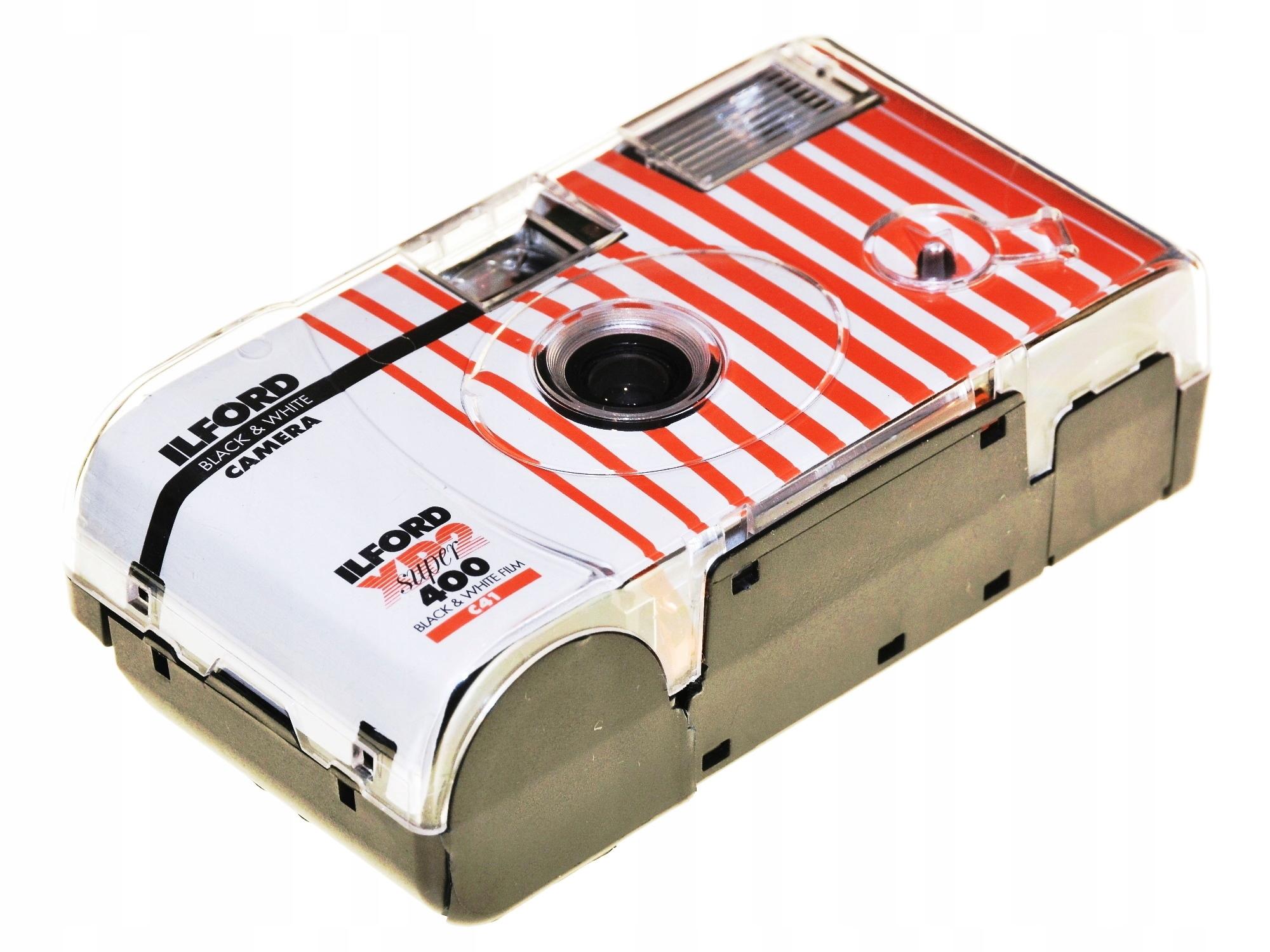 Jednorazová kamera Ilford XP2 400 C41 - s blesk