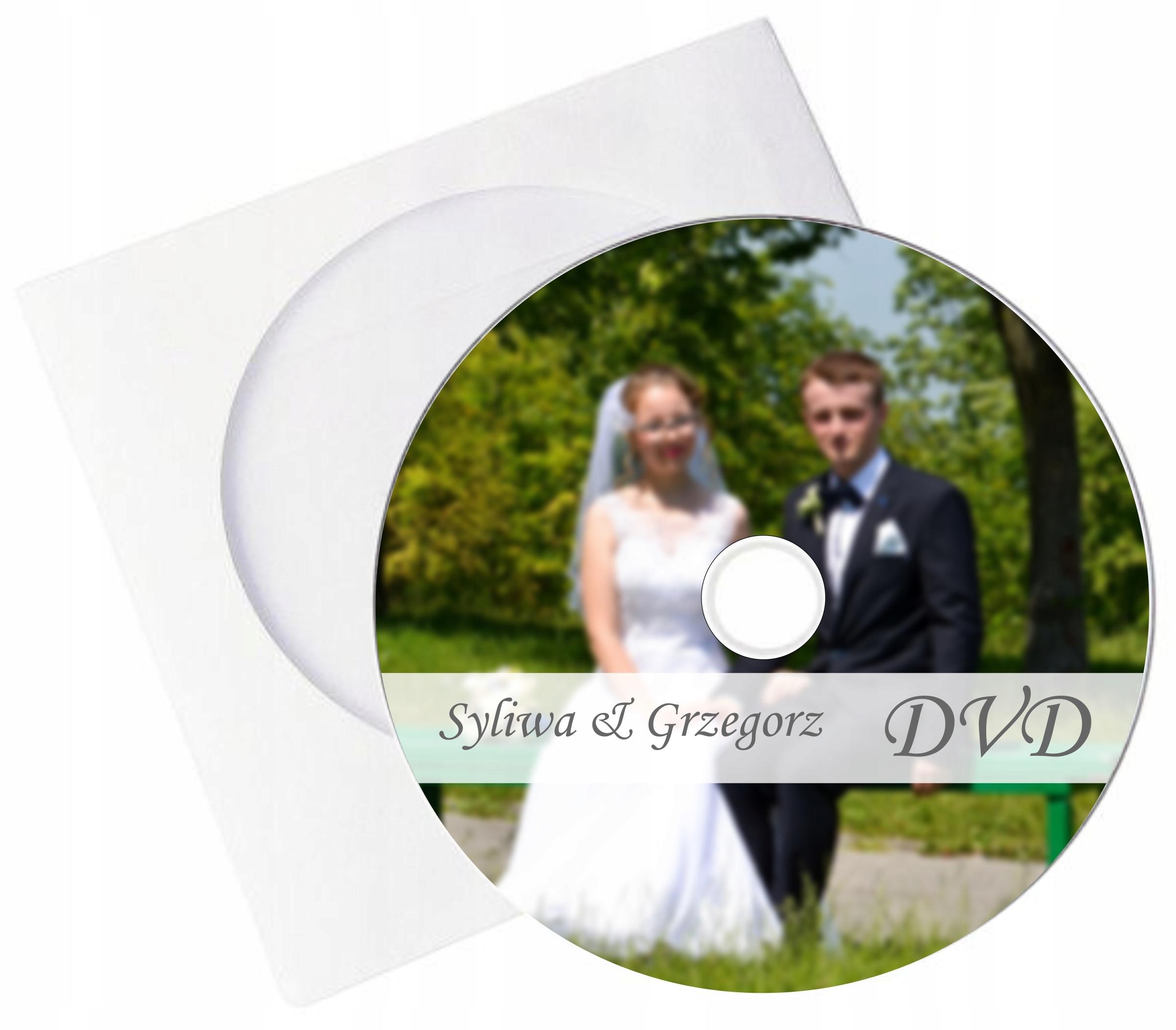 DVD s potlačou a DVD obálkou vlastnou tlač