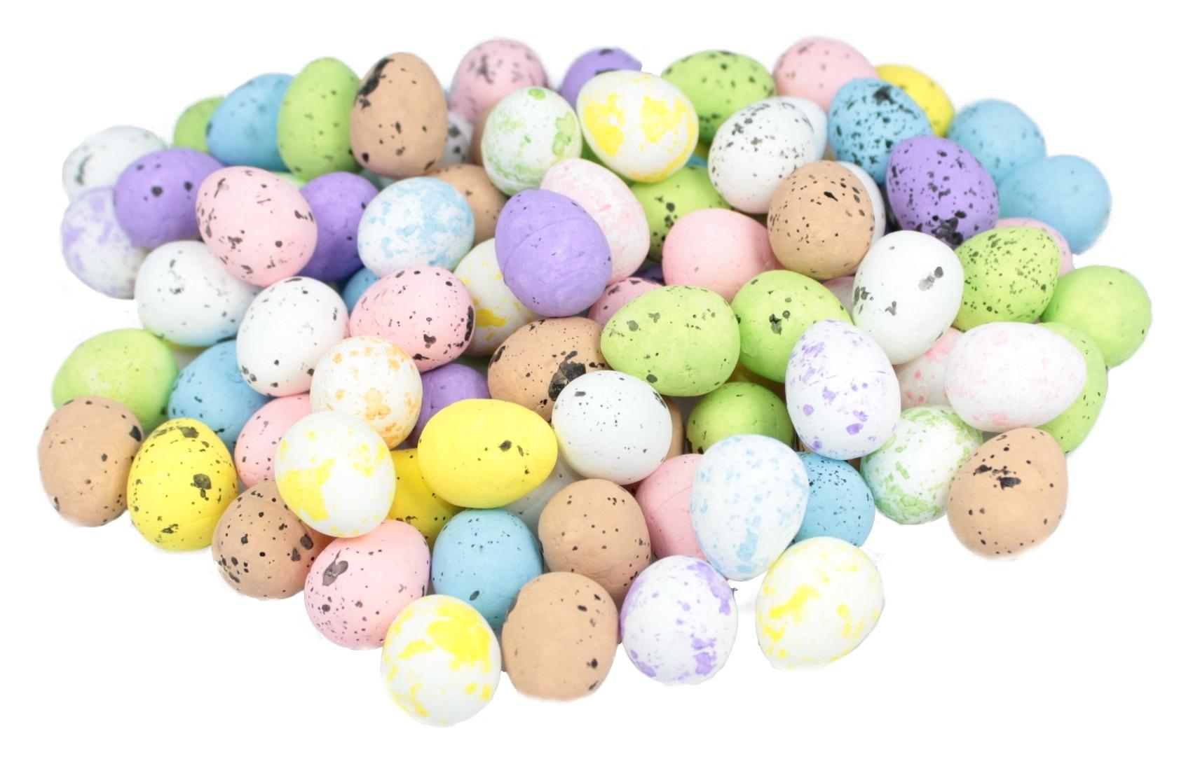 Styrofoamové vajcia Speckled Egg Eggs 100 kusov