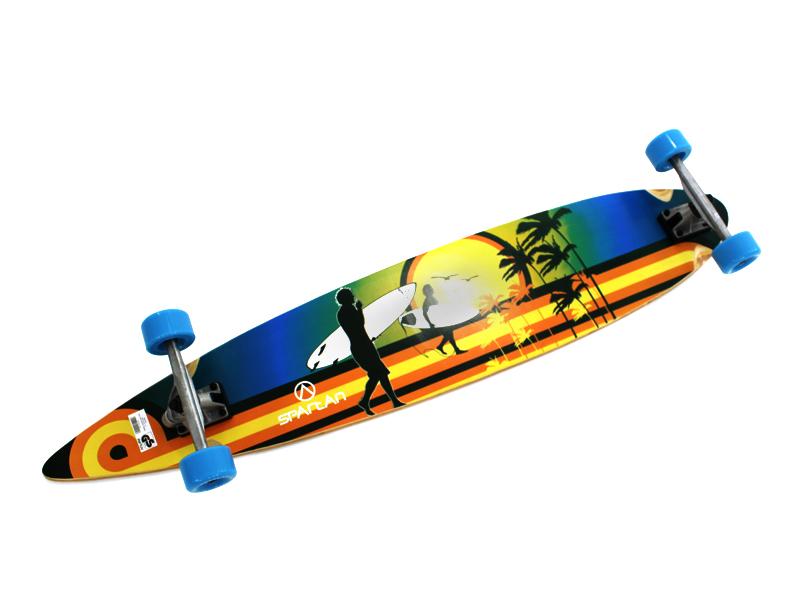 Skateboard Longboard Board Maple Wood do 100 kg