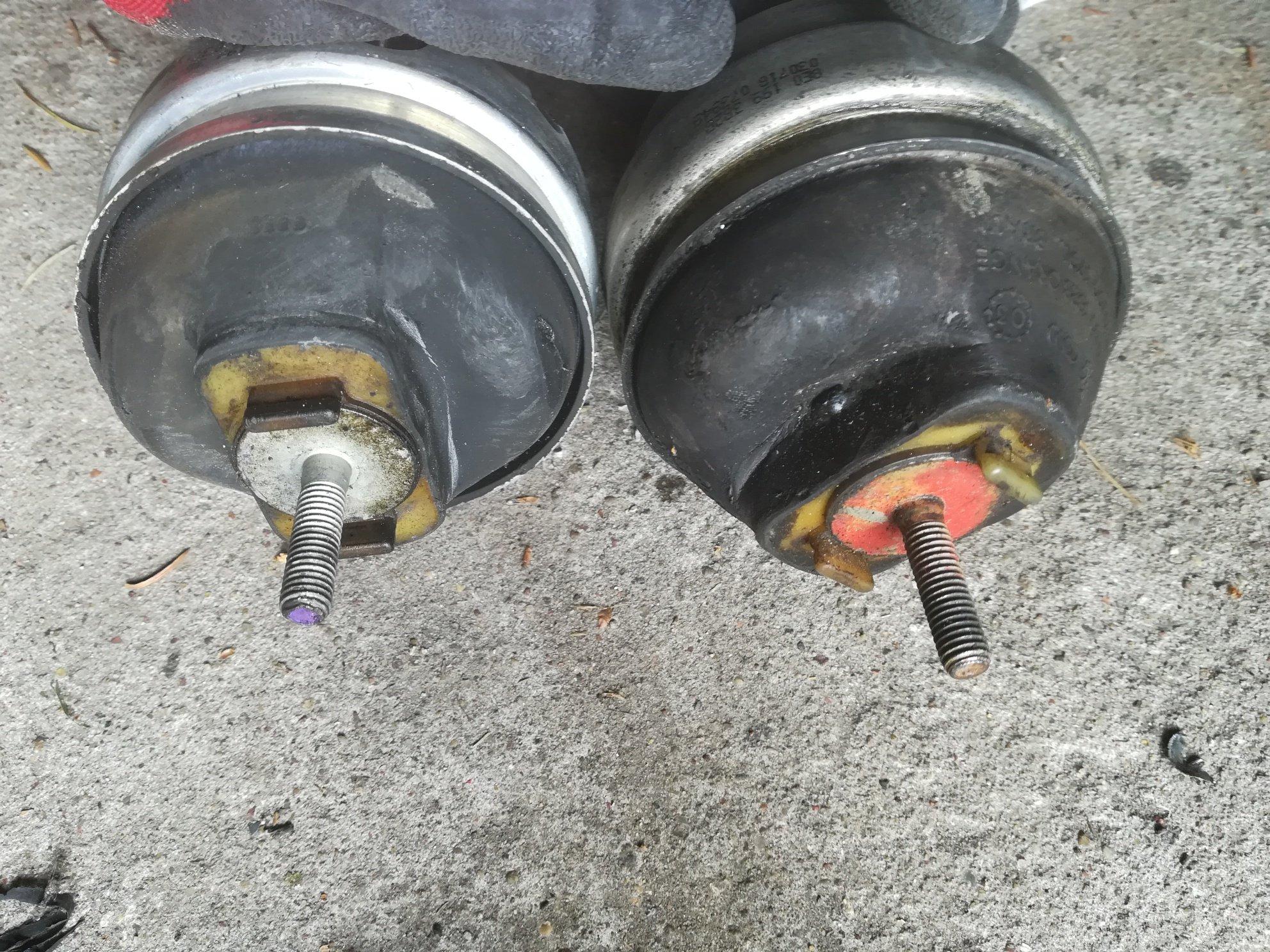 подушки двигателя audi a4 b5 b6 b7 18t 20 tdi