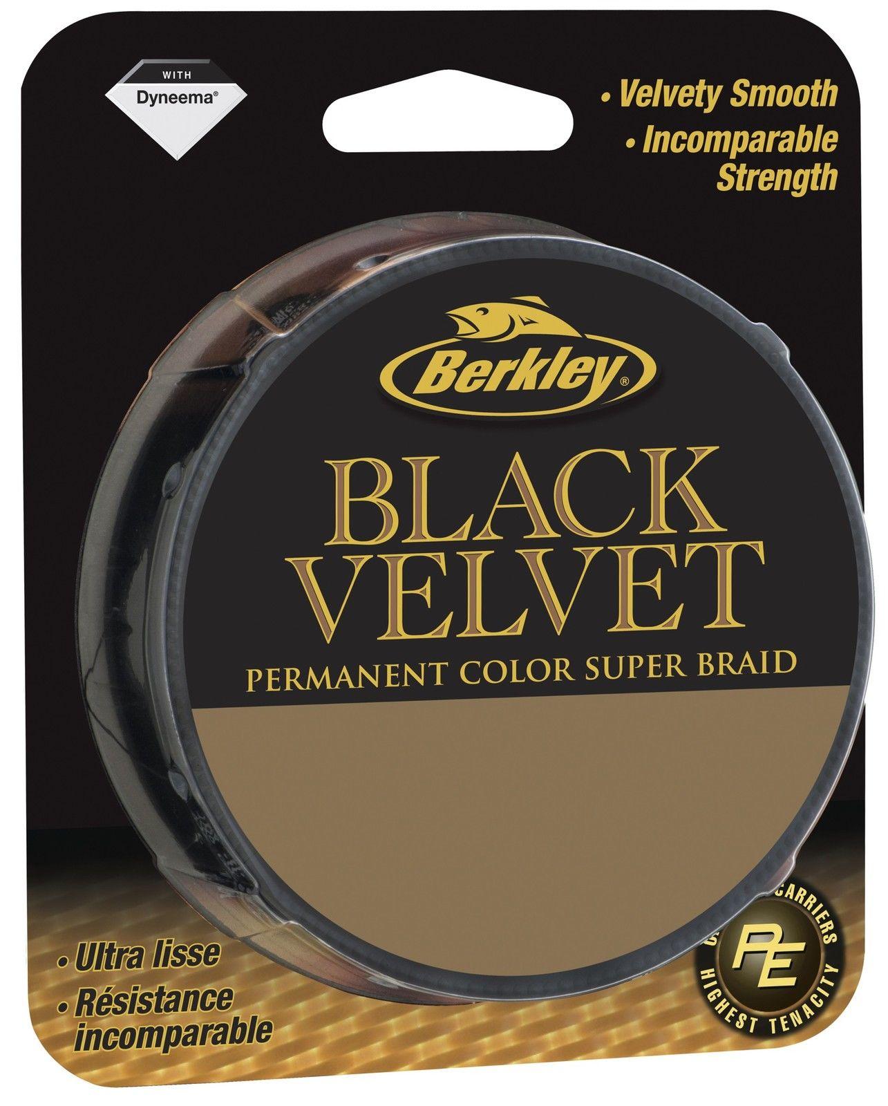 BERKLEY BLACK VELVET 300m 0,18 mm