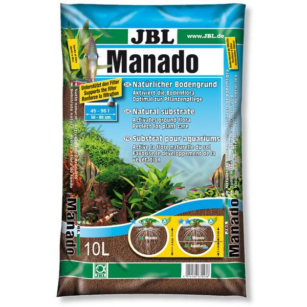 JBL MANADO 10 L - pôdy pre rastliny v akváriu 100L