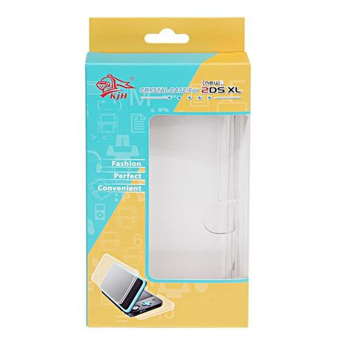 Item CASE POLYCARBONATE CRYSTAL CASE NEW NINTENDO 2DS XL