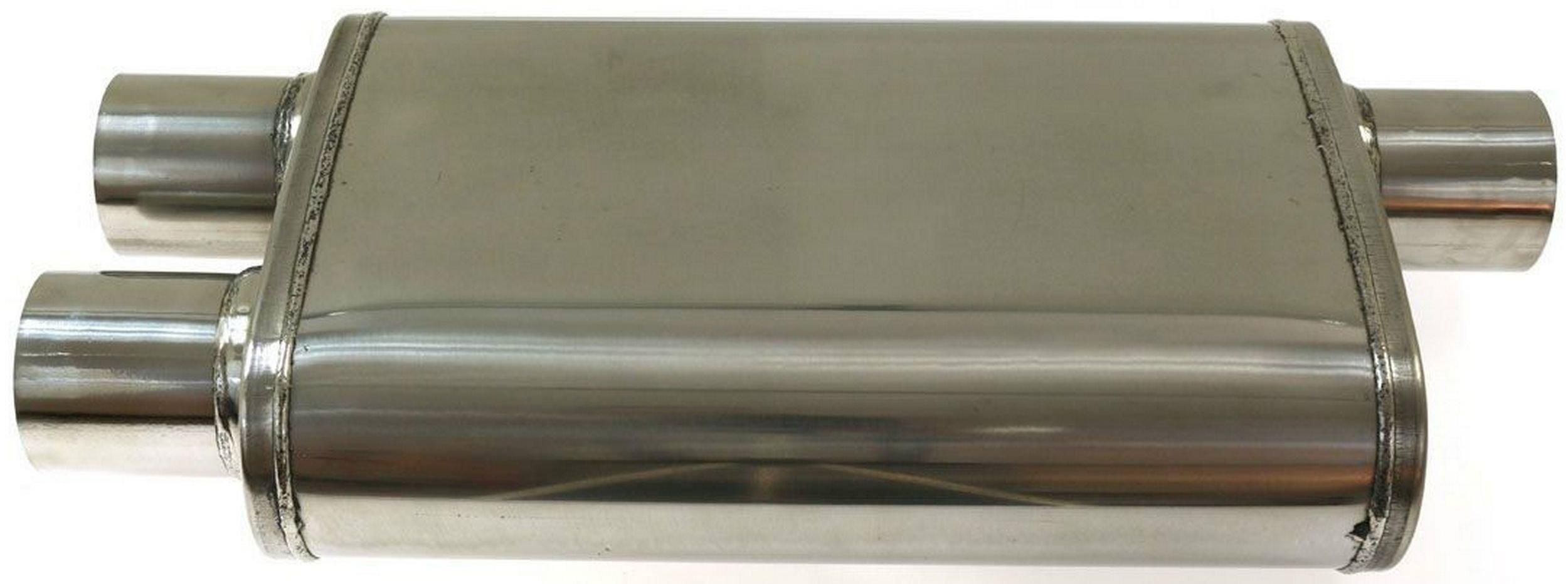 глушитель Средний спортивный задняя панель 2 5'' сталь 409