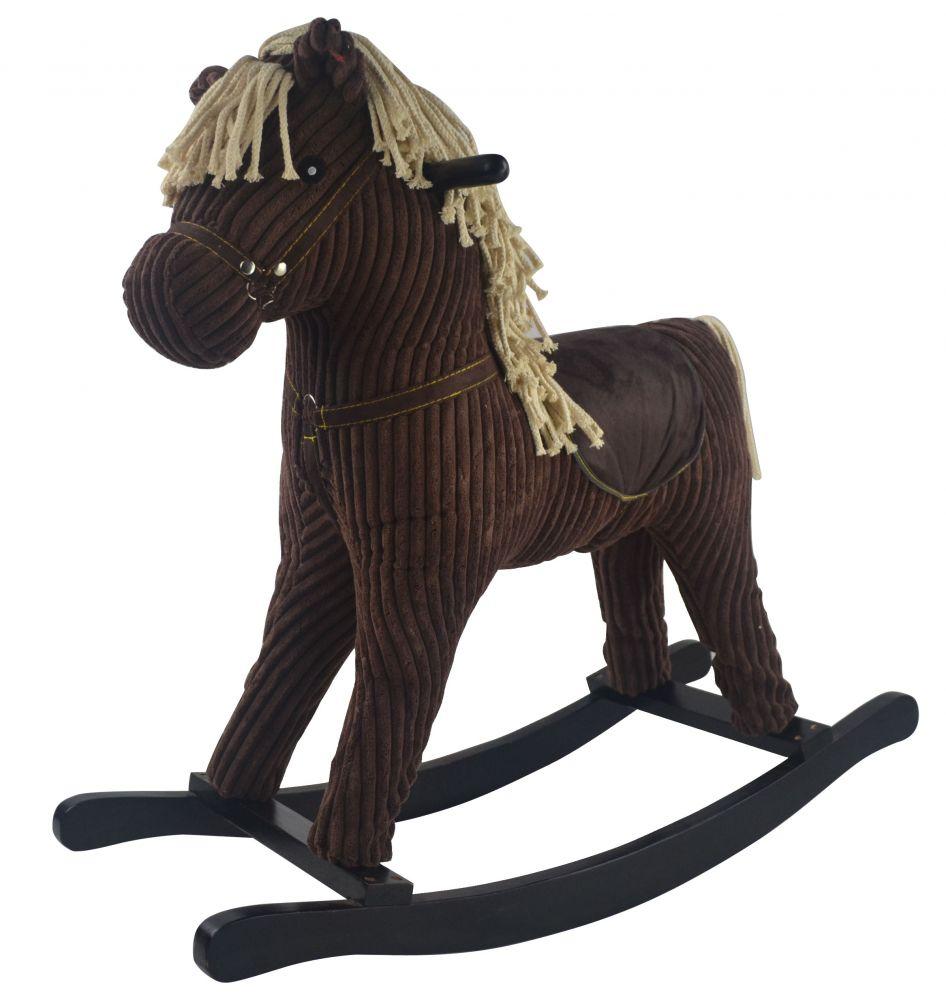 Interaktívne KÔŇ-hojdací kôň BROWNIE Bujak