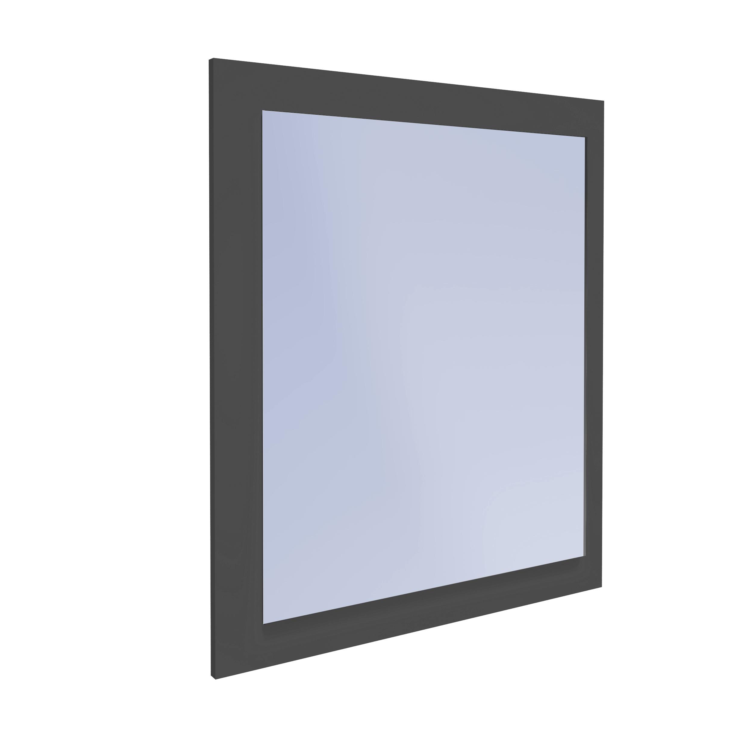Zrkadlo pre Kúpeľňa Obojstranné Grafit 70x60