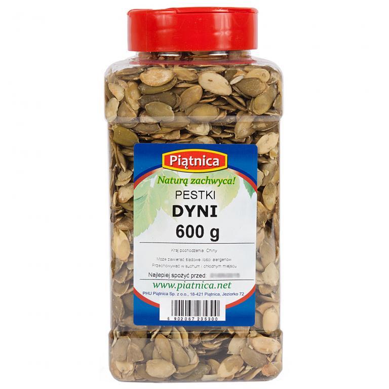 Tekvicové semená, tiež Lúpané Jar 600 g PIĄTNICA