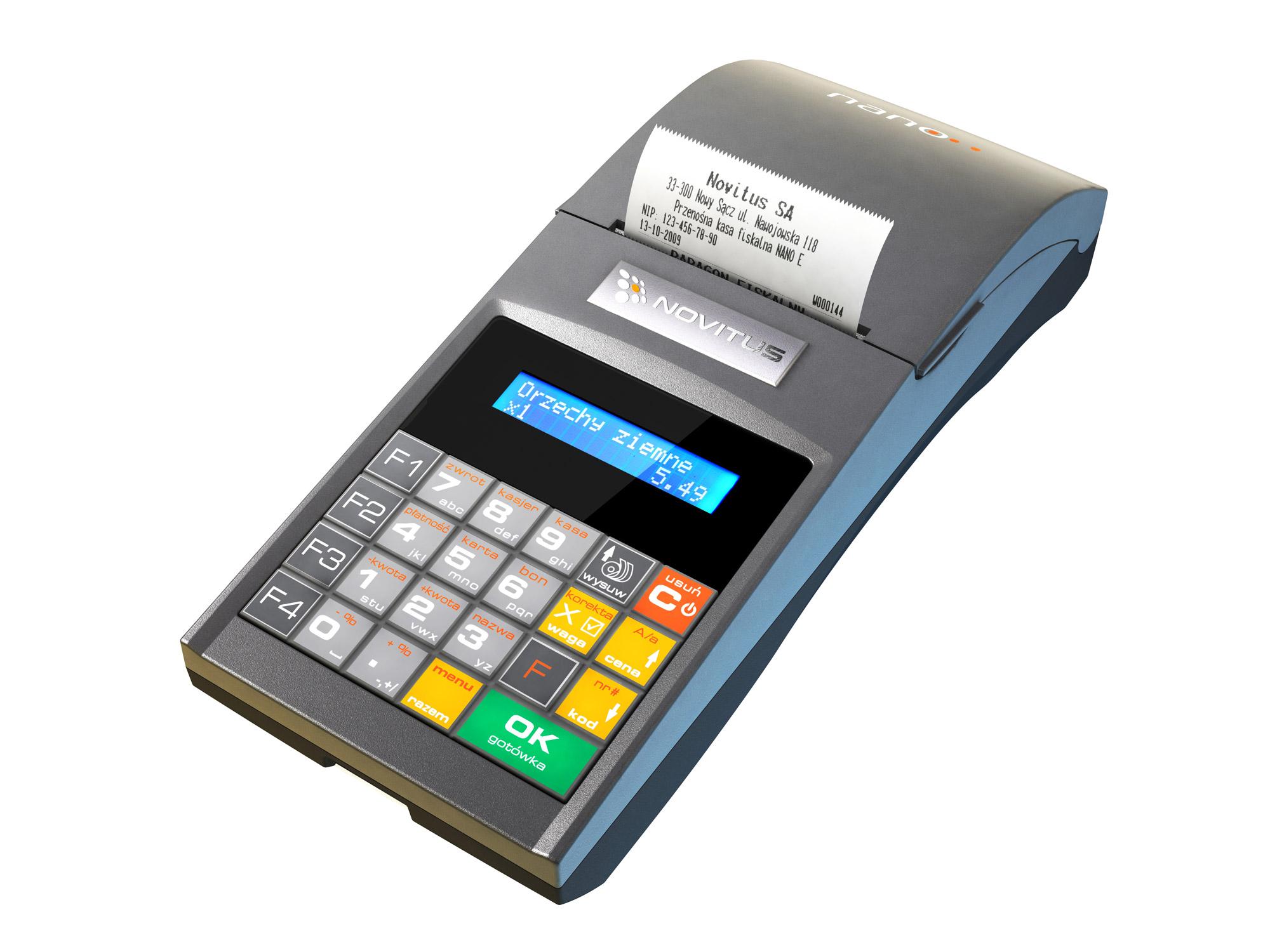 Fiškálna pokladnica Novicitus Nano E - Elektronická kópia