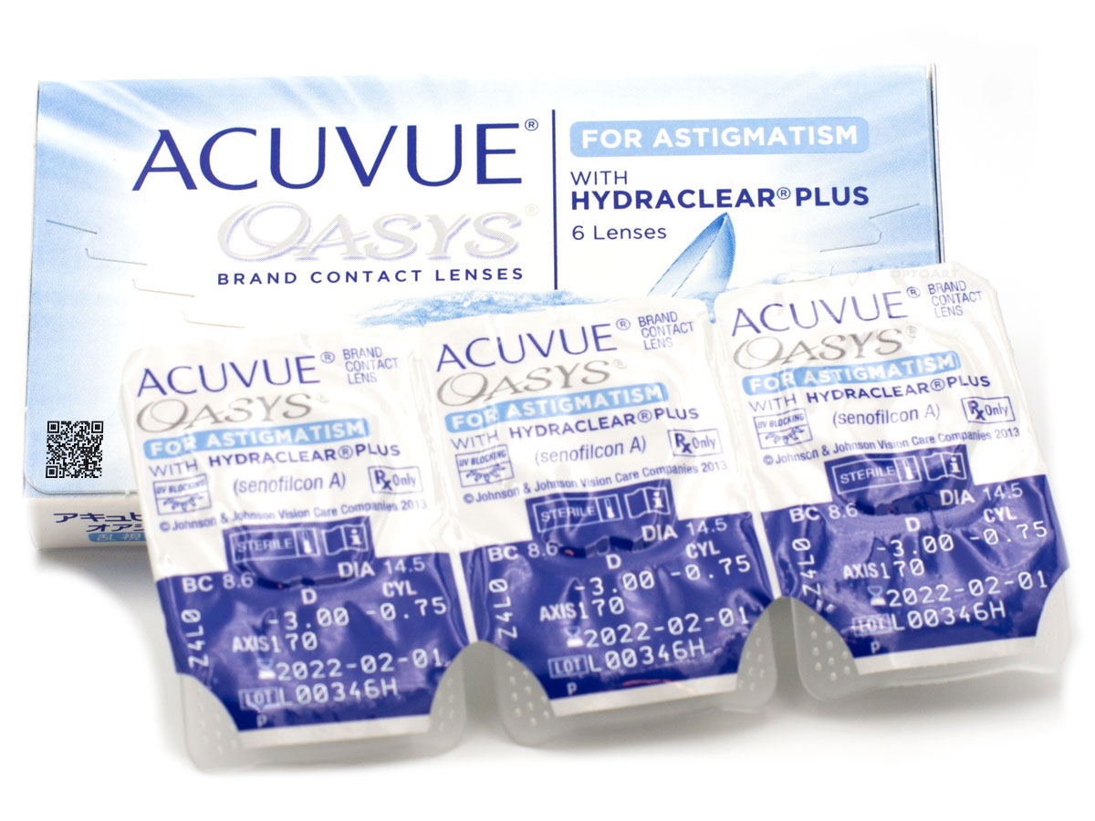 ACUVUE OASYS for ASTIGMATISM  toryczne 6 szt
